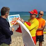 שגריר אוסטרליה הגיע להתרשם מהפרויקט האוסטרלי בחוף הדרומי מאת - כאן דרום אשדוד