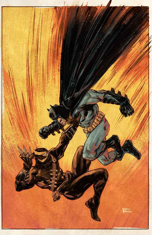 BatmanLines by Garry BrownColors by Mike Spicer