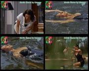 Melhor na TV 2015/592 - Soraia Chaves sexy em As Poderosas tomando banho
