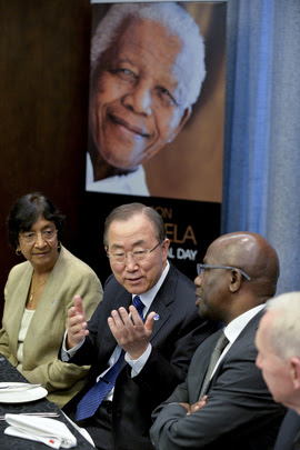 Secretary-General Travels to South Africa