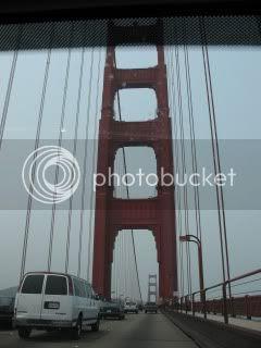 Crossing Golden Gate Bridge