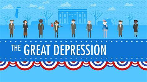 great depression crash   history  youtube
