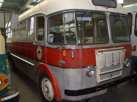 1950 Ford Bus In New Zealand