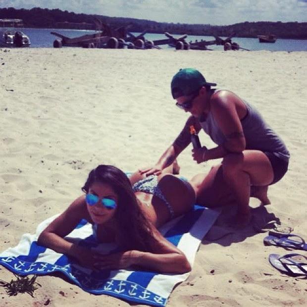 Thammy Miranda e a namorada, Andressa (Foto: Instagram / Reprodução)