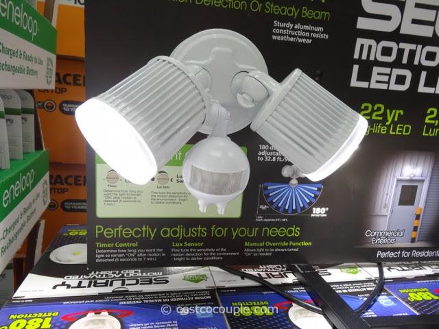 Zone Led Motion Sensor Security Light