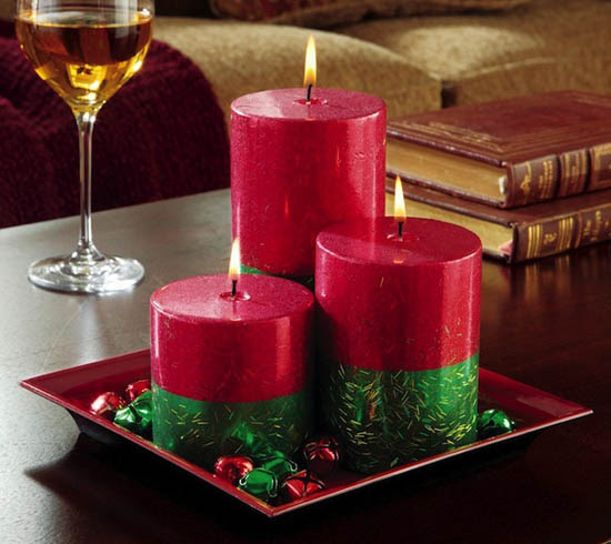 Top Christmas Candle Decorations Ideas - Christmas ...