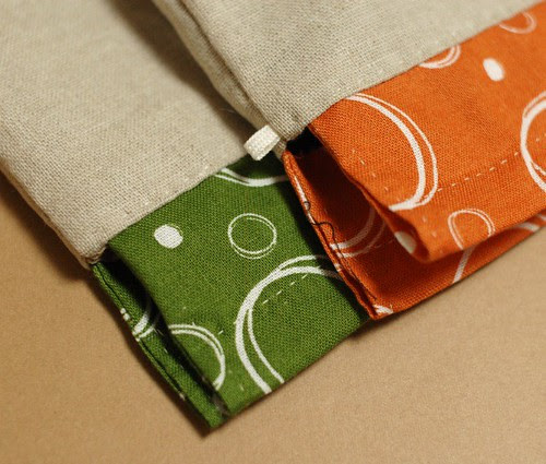 How to make a petit pouch 34
