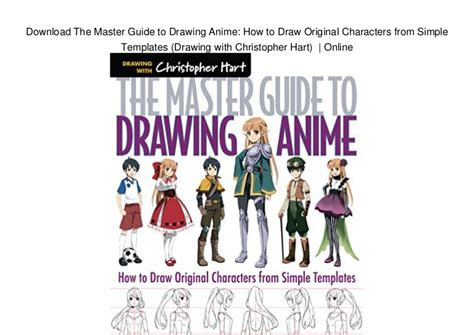 master guide  drawing anime   draw