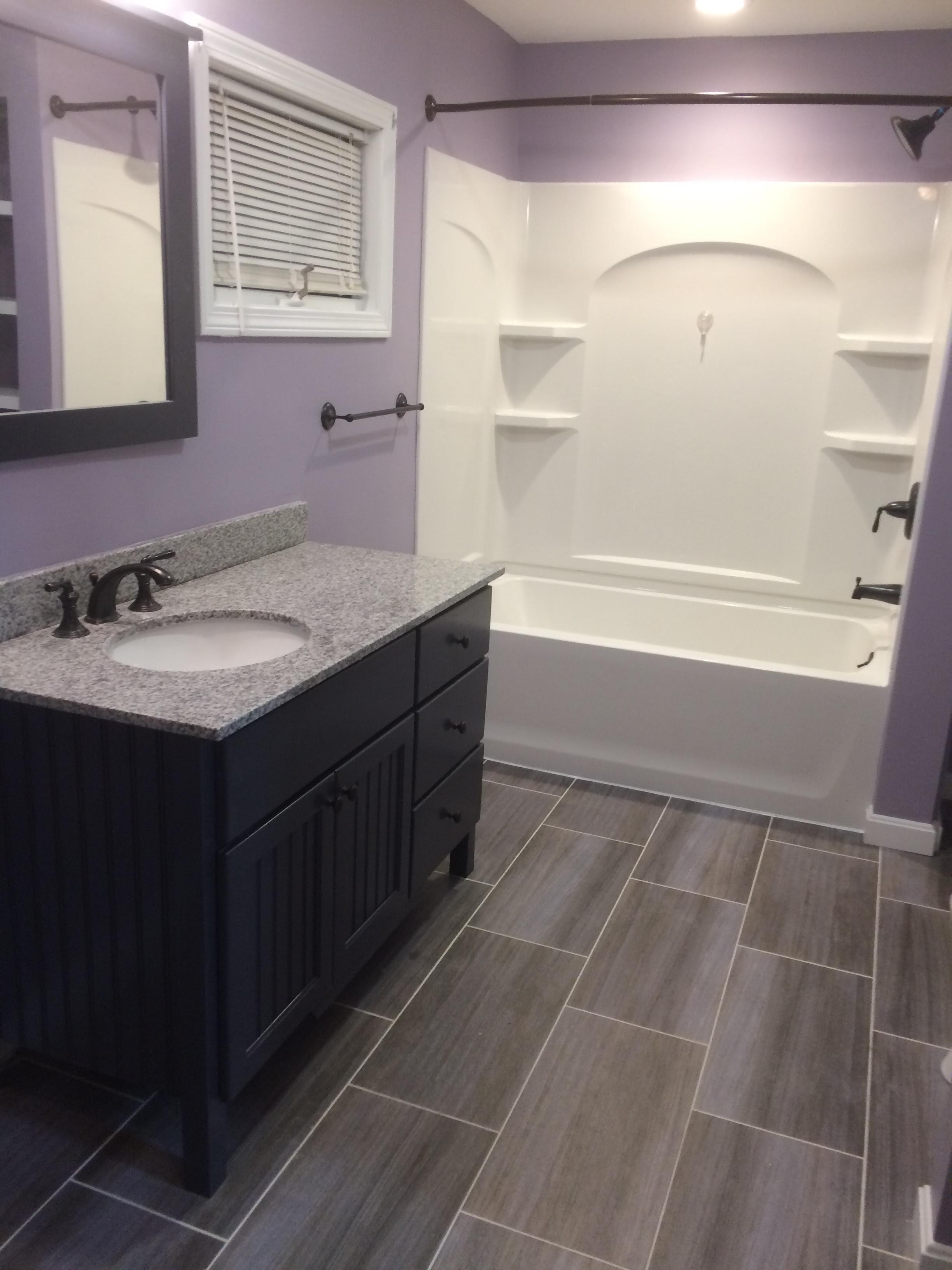 Basic Bathroom Remodel | NH Bath Builders