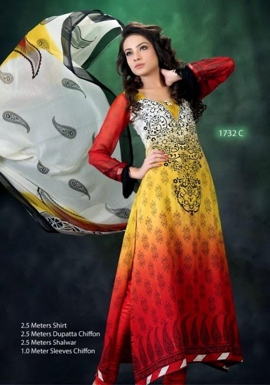 Hajiba-De-Chiffon-by-Dawood-Lawn-Double-Shade-Lawn-Prints-New-Fashion-2013-2014-
