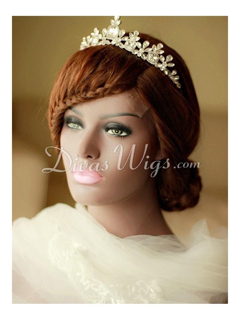 Stock Pre-styled Wedding Braids Hairstyle Human Hair Full ...