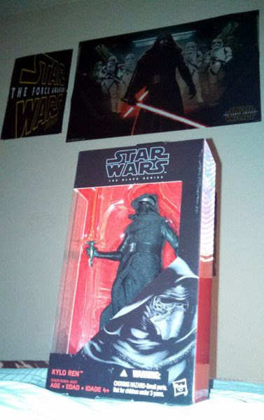 A Kylo Ren action figure that I bought at a local Walgreens drugstore on September 22, 2015.
