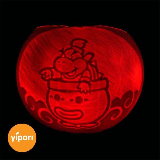Nintendo Pumpkin - Baby Bowser