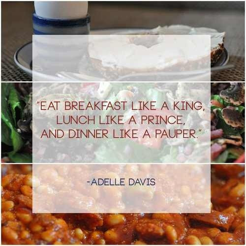 Eat Breakfast Quote Quote Number 618400 Picture Quotes