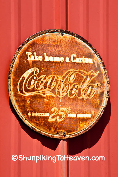 Coca Cola, 6 Bottles, 25 Cents Plus Deposit, Macon County, Missouri