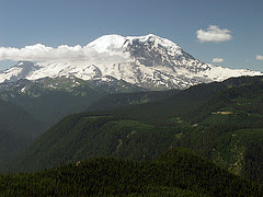 Rainier From Sun Top