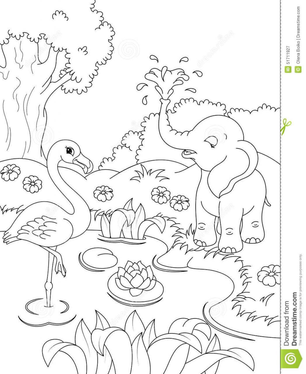 Coloring Pages Nature Scenes at GetDrawings | Free download