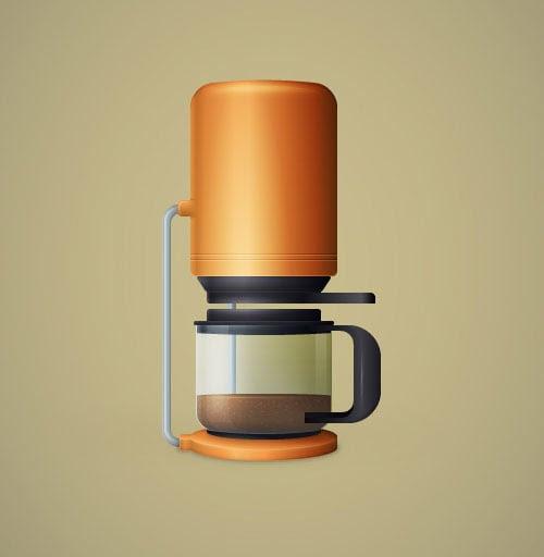 Coffee-Maker-Illustration-Illustrator-Tutorial-for-intermediate