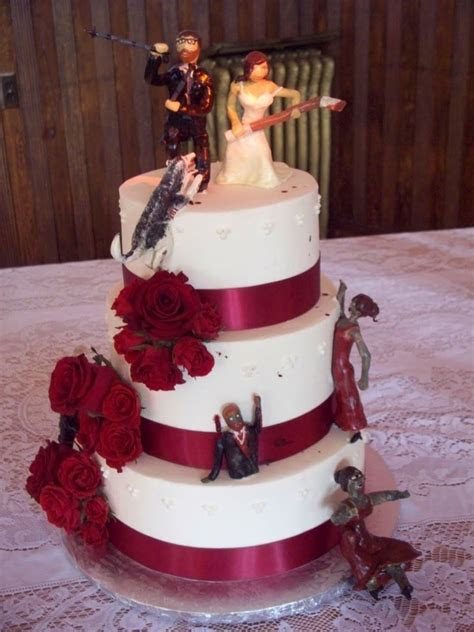 Zombie Wedding Cakes ? Decoration Ideas   Little Birthday