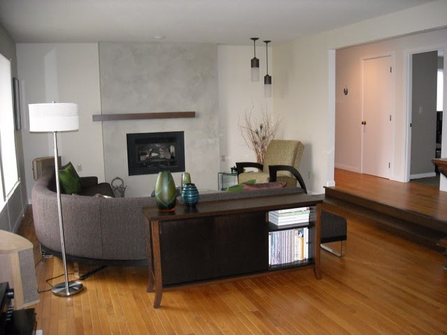 Fireplace Designs by Interior Dimensions - modern - living room ...