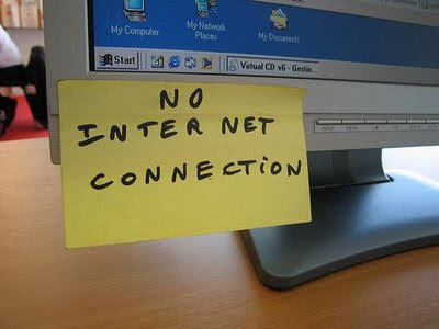 O que aconteceria se a internet parasse por um dia