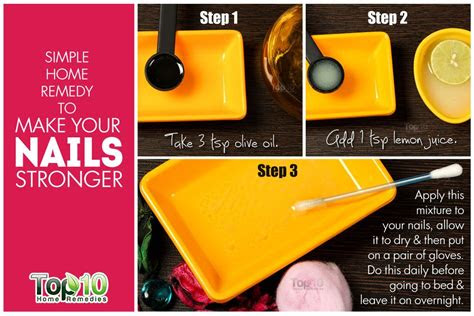 nails stronger top  home remedies