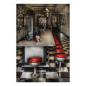 1950's - The Ice Cream Parlor Print
