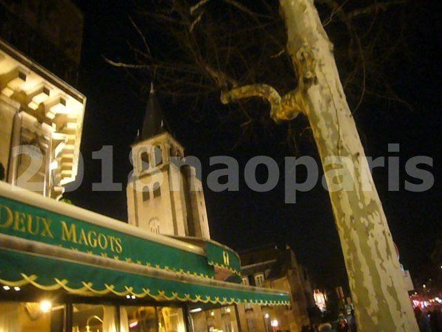 【PARIS】【街角のCAFE・BAR】【サンジェルマン界隈】2018年3月2日