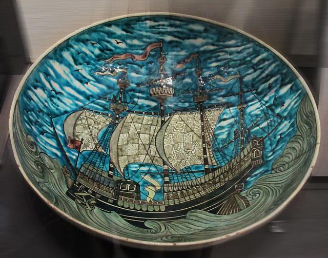 Plate - William De Morgan