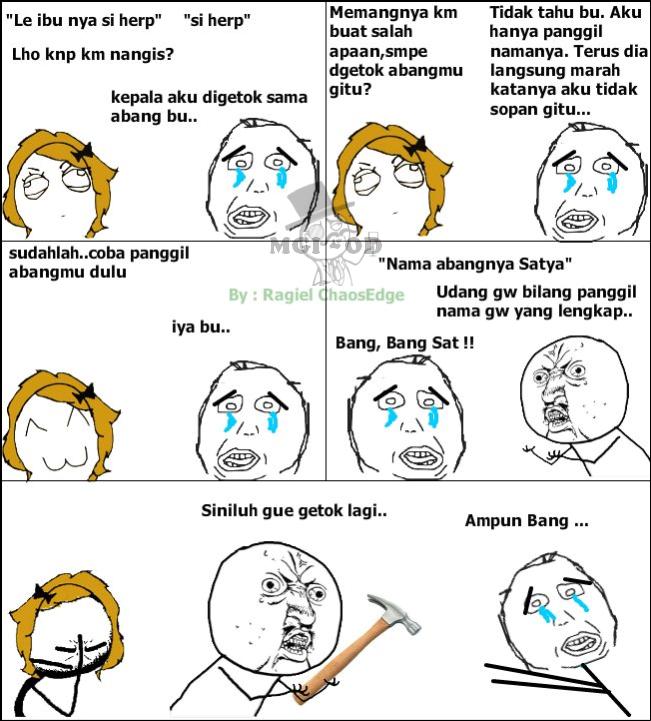 Foto Meme Comic Indonesia 11