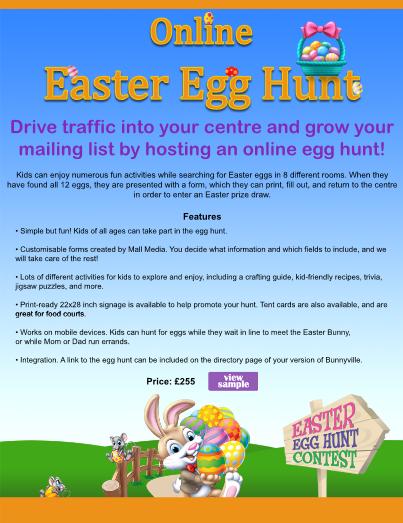 Easter Egg Hunt Information