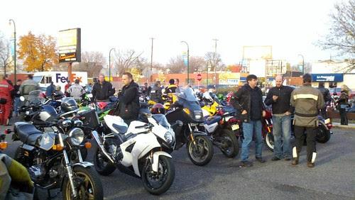 November 2011 Motorcycle First Thursday at Dulonos in Minneapolis, MN