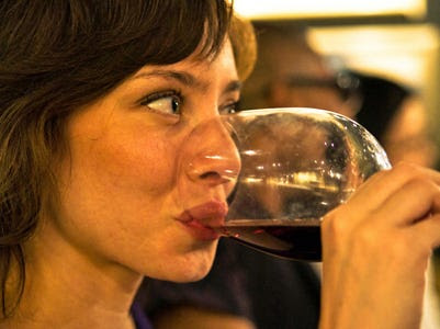 But moderate drinking also has other pleasant side-effects. For example, it raises the level of an important chemical called dopamine in our brain's reward center, which makes us feel good.