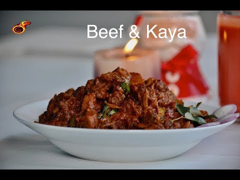 Kerala Beef & Kaya | Beef with Raw Banana