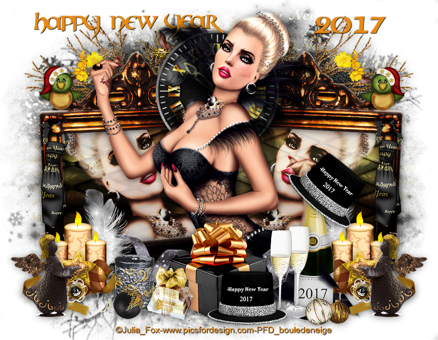 tuto happy new year 2017