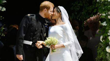 Royal Wedding 2018 LIVE UPDATES and LIVE STREAM: Newlyweds Prince Harry and Meghan Markle seal it with a kiss