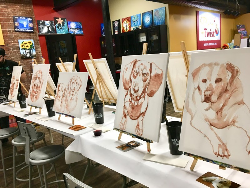 Painting With A Twist Paint Your Pet 2016 Visual Motley