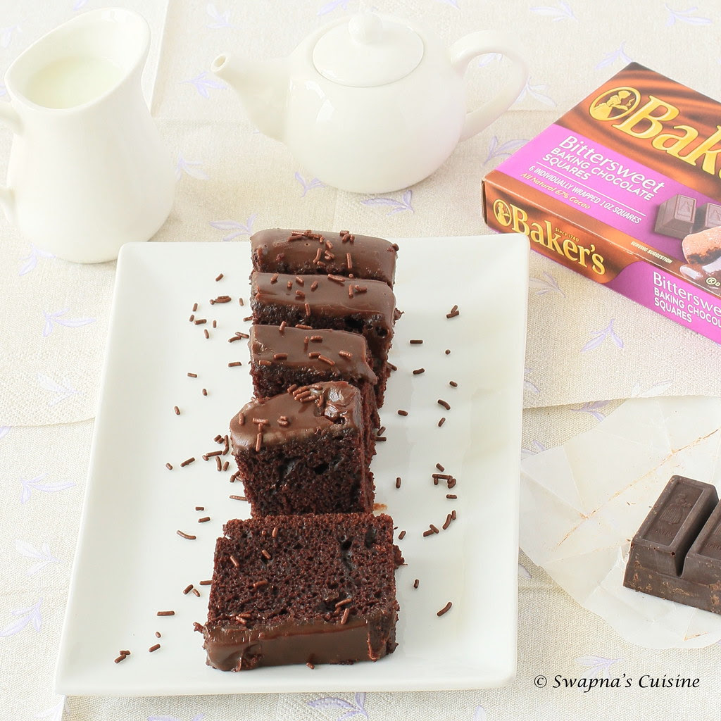 One Bowl Eggless Chocolate Cake Recipe