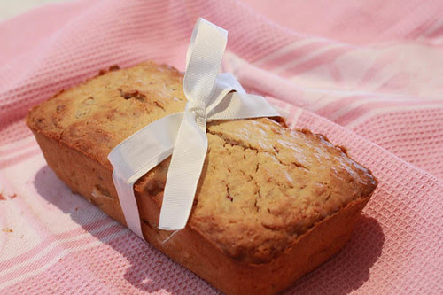 Pear and Raspberry Bread-2