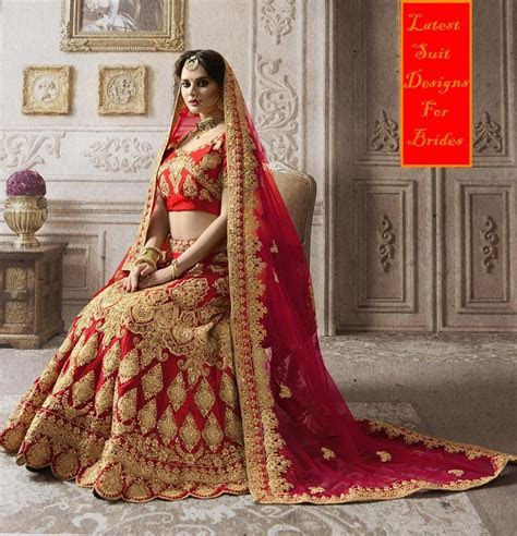 Upcoming Red Latest Bridal Lehenga Designs 2018 Images