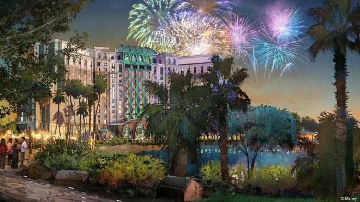 Artist's Rendering of the New Tower at Disney's Coronado Springs Resort © Disney