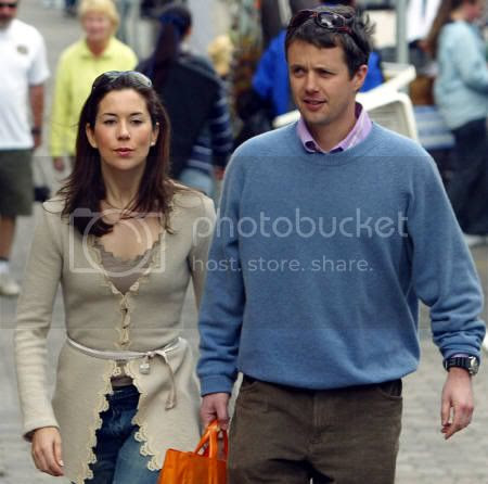 Mary Donaldson & Crown Prince Frederik of Denmark