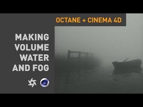 Membuat Kabut & Air Di Cinema 4D Dan Octane