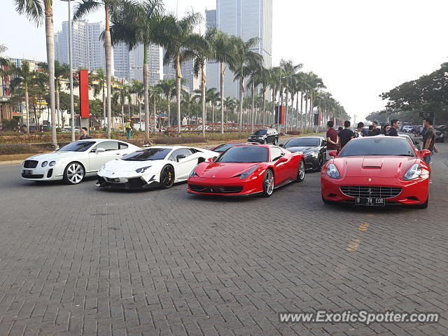 Ferrari California spotted in Jakarta, Indonesia on 09/02 ...