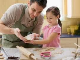 Actividades para niños en la cocina