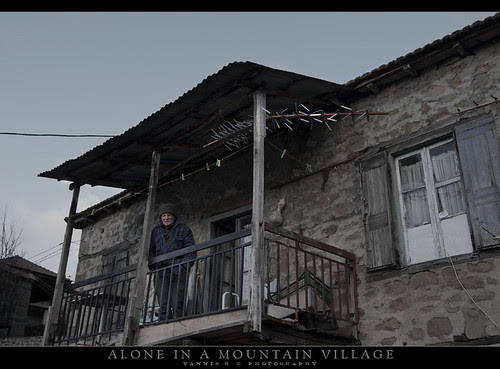 Alone in a Mountain Village