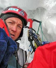 El alpinista esloveno Tomaz Humar.