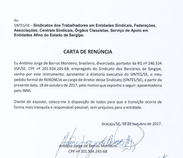 Carta De Renuncia A Sindicato About Quotes T