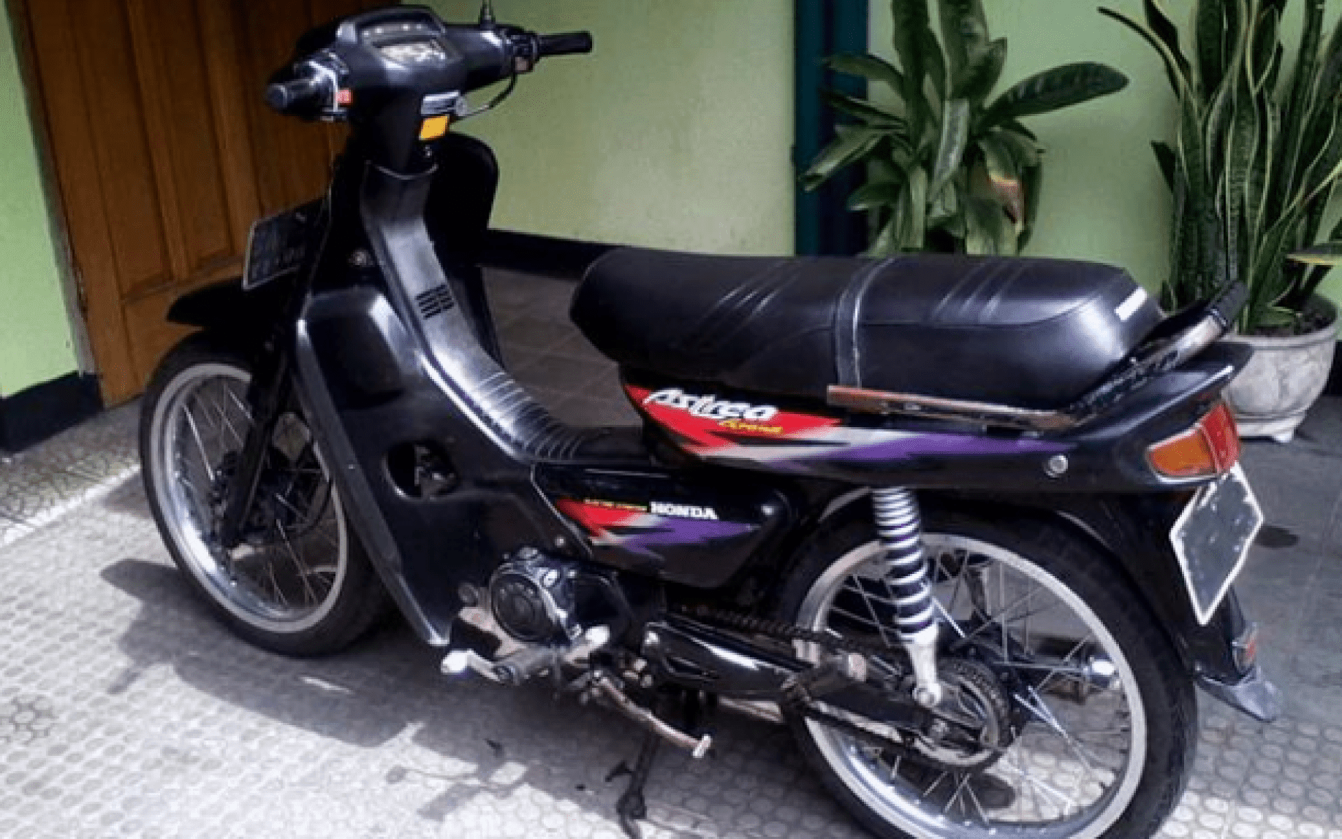 Download 99 Kontes Modifikasi Motor Honda Grand Terkeren Kampong Motor