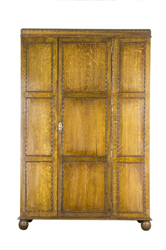Antique Furniture Armoire, Antique Armoire, Scotland 1920, B474